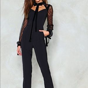 Nasty Gal Lace Jumpsuit